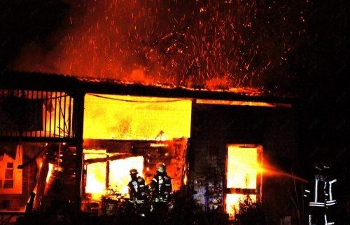 23.08.2012 Gebäudebrand