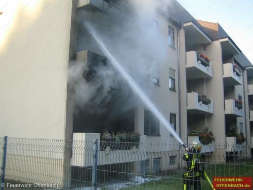 Zimmerbrand am 01.10.2012