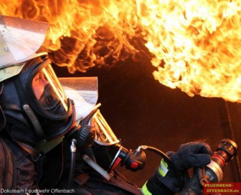 """Heißausbildung im """"Fire Dragon"""""""