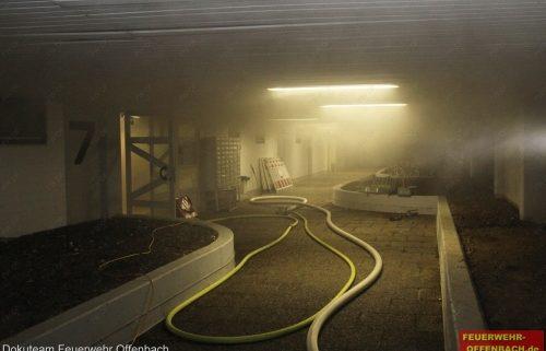 4 Verletzte Personen bei Kellerbrand