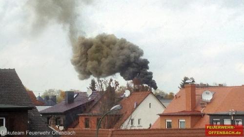 Zwei Brände im Pelletwerk der Energieversorgung Offenbach