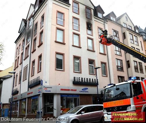 Küchenbrand in der Gerberstraße