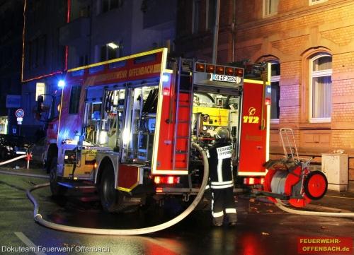 Zimmerbrand in der Kaiserstr. 44A