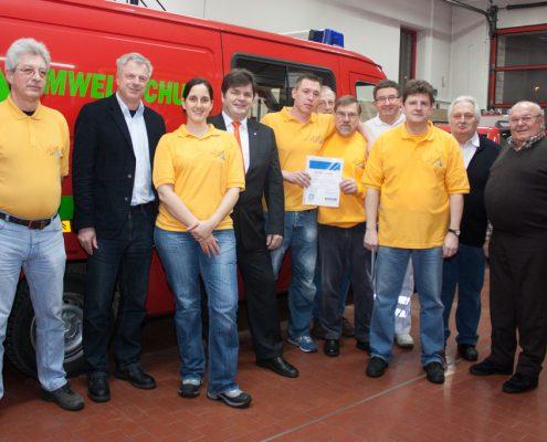Aktion SpardaVereint   Foto: Feuerwehr Offenbach Bieber
