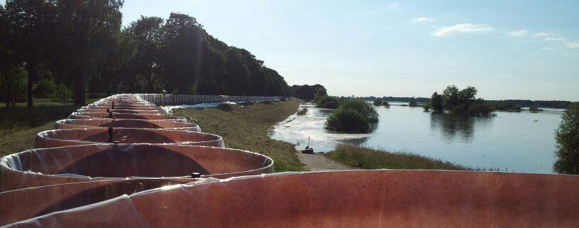 Hochwassereinsatz in Niedersachsen