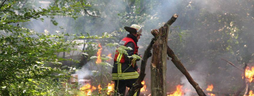 Katastrophenschutzübung 2013
