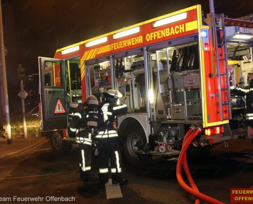 Wohnungbrand in der Hermann-Steinhäuser-Str