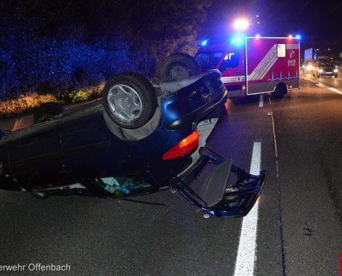 A661: Schwerer Verkehrsunfall