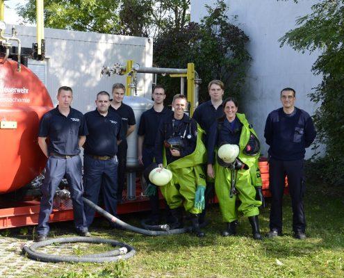 Neue CSA-Träger in Offenbach-Bieber ausgebildet