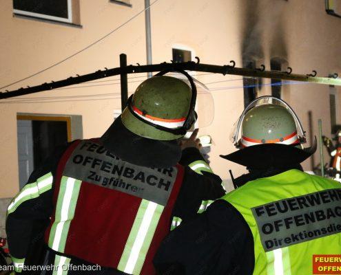 Feuer in einem Wohngebäude