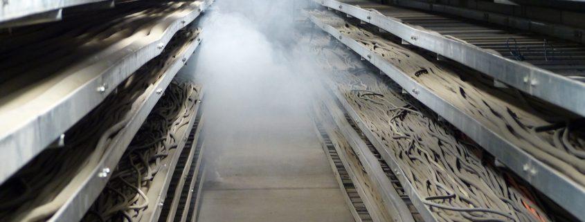 Brandschutzübung im Heizkraftwerk