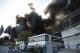 Großbrand in Offenbacher Recycling Betrieb