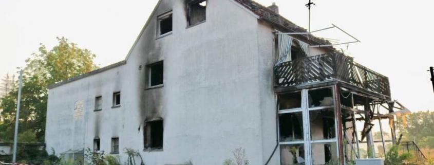 Gebäudebrand in Bieber | Bild: Alex Müller